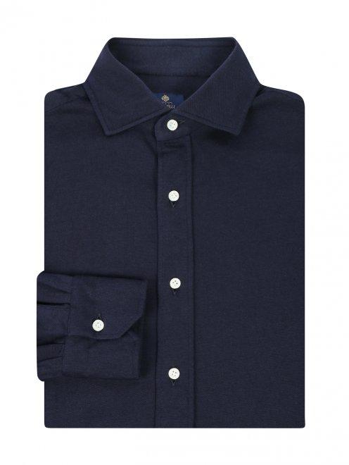 Рубашка из хлопка и кашемира  - Общий вид