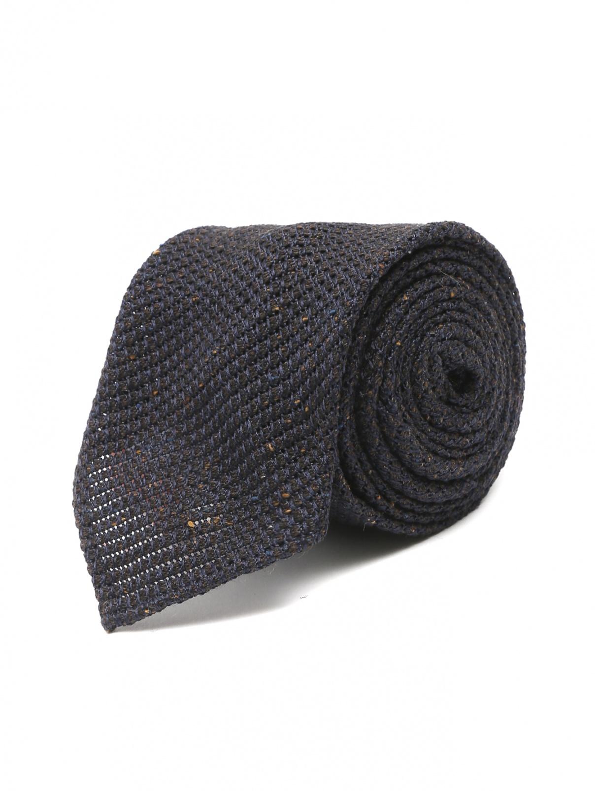 Галстук из шерсти и шелка LARDINI  –  Общий вид