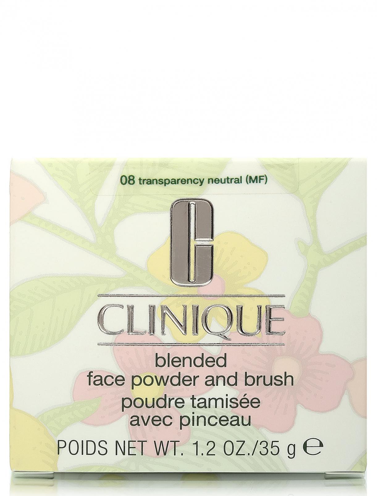Прозрачная пудра - №8 Transparency neutral, Powders And Compacts Clinique  –  Модель Общий вид