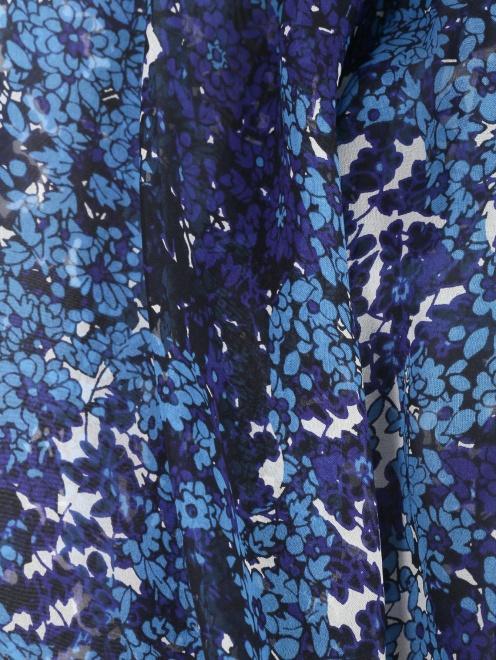 Блуза из шелка с цветочным узором Essentiel Antwerp - Деталь1