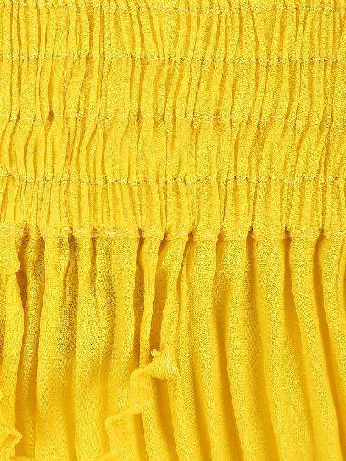 Плиссированные брюки свободного кроя - Деталь1