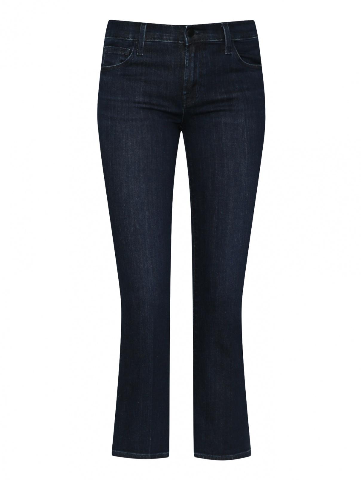 Укороченные джинсы из хлопка J Brand  –  Общий вид
