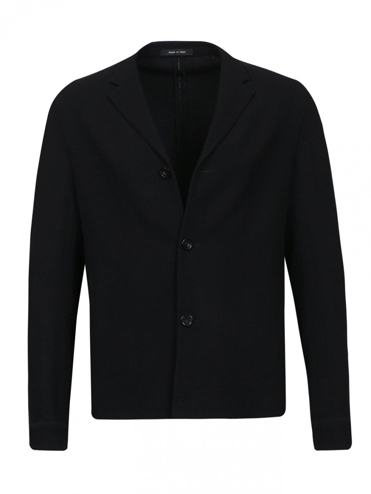 Пиджак из тонкой шерсти Emporio Armani  –  Общий вид