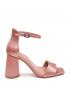 Босоножки атласные на устойчивом каблуке Max&Co  –  Обтравка1